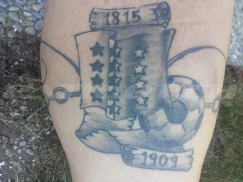 #tattoo #tattoos #wallis #valais #fussball