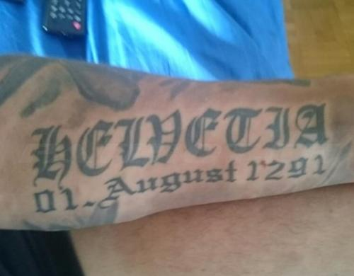 #tattoo #tattoos #helvetia #1august #1291