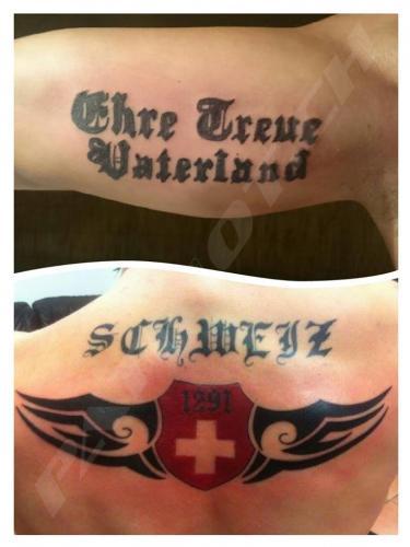 #tattoo #tattoos #ehretreuevaterland #schweiz # 1291