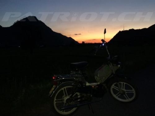 #töffli #moped #mofa #sonnenuntergang #bilten