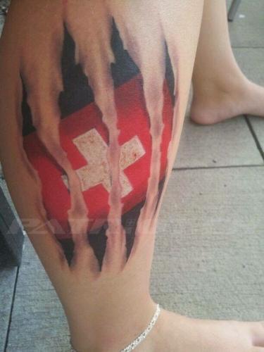 #tattoo #tattoos #schweizerkreuz