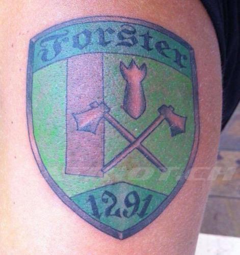 #tattoo #tattoos #abzeichen #rettungssoldaten #armee #militär