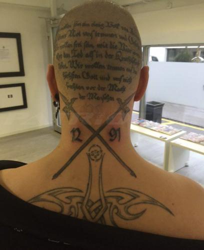 #tattoo #tattoos #rütlischwur #hellebarden #1291