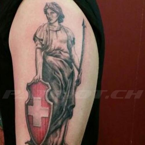 #tattoo #tattoos #helvetia #schild