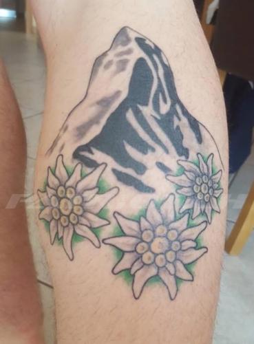 #tattoo #tattoos #matterhorn #edelweiss