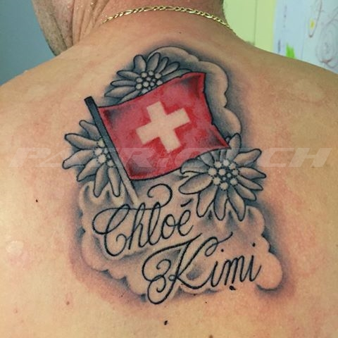 #tattoo #tattoos #fahne #edelweiss