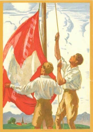 #fahne #postkarte #1august #nationalfeiertag #bundesfeier #fêtenationale #1eraoût #festanazionale #1agosto