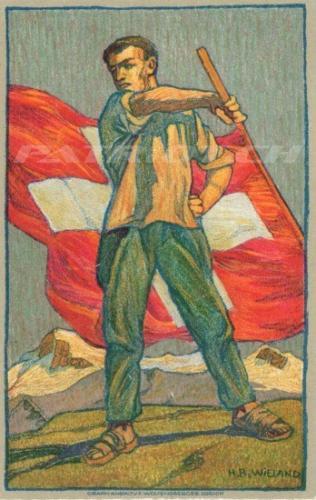 #fahne #fahnenschwinger #postkarte #1august #nationalfeiertag #bundesfeier #fêtenationale #1eraoût #festanazionale #1agosto