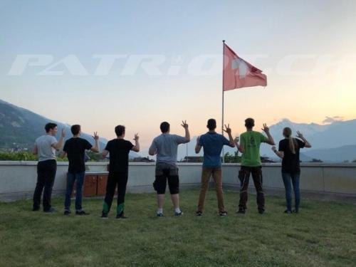 #bandeducarnotz #bramois #rütlischwur #fahne