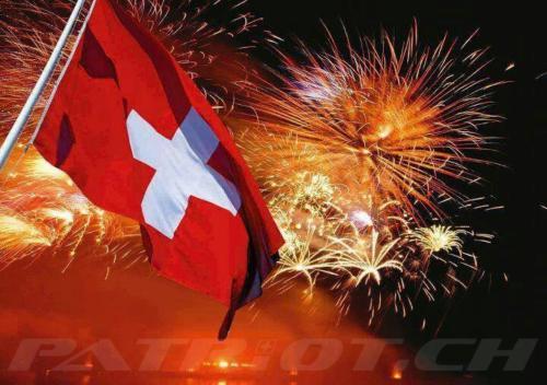 #fahne #feuerwerk #1august #nationalfeiertag #bundesfeier #fêtenationale #1eraoût #festanazionale #1agosto