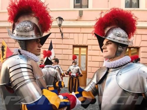 #schweizergarde #guardiasvizzera #gardist #garde #vatikan #papst