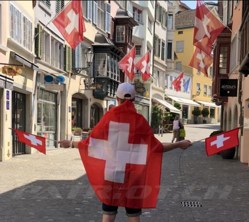 #1august #nationalfeiertag #patriot #eidgenoss #fahne #fähnli #zürich