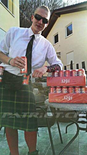 #fasnacht #highlander #1291 #bier