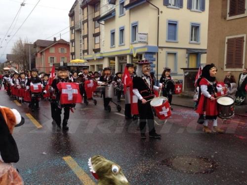 #fasnacht #guggenmusik #schweizerkreuz
