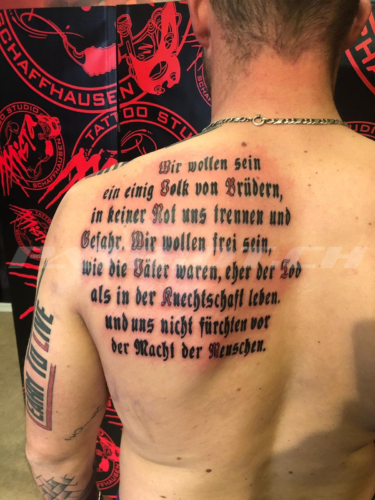 #tattoo #tattoos #rütlischwur