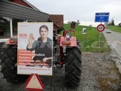 #waffenrecht #waffenrechtnein #plakat #abstimmung