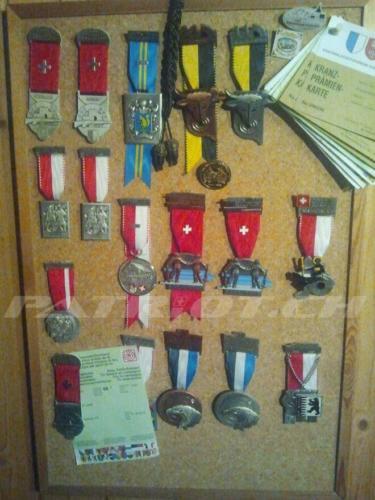 #schützenabzeichen #medallien #schiesssport #sammlung