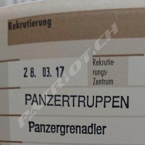 #rekrutierung #panzertruppen #panzergrenadier #swissarmy #armee #militär #semperfidelis