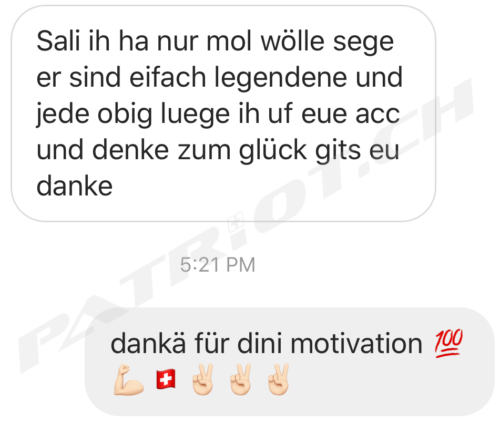 #legenden #danke #motivation #patriotch