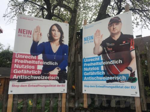 #waffenrecht #abstimmung #plakat
