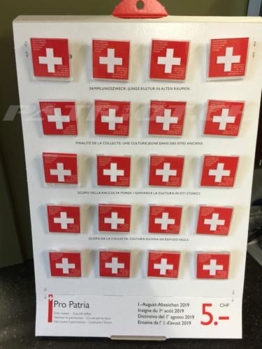 #1august #1augustabzeichen #abzeichen #schweizerkreuz #propatriota