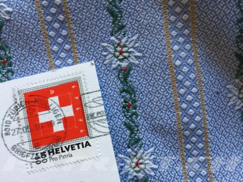#briefmarke #schweizerkreuz #propatria #helvetia