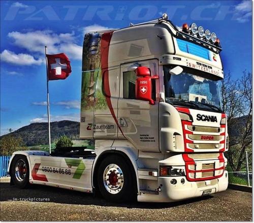#lkw #lastwagen #1291 #scania #fahne