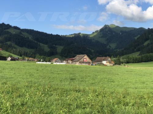 #bauernhof #bauer #schopf #fahne #sihlsee