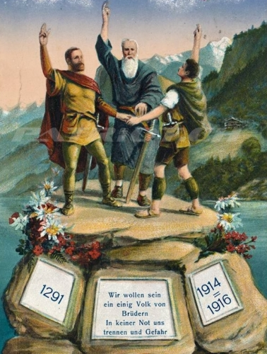 #rütlischwur #postkarte
