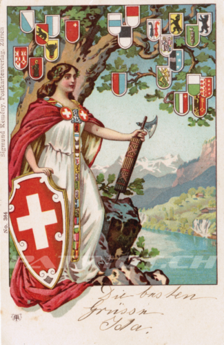 #postkarte #helvetia