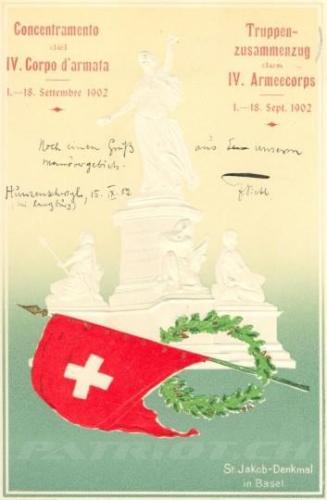 #postkarte #helvetia #ww1 #denkmal