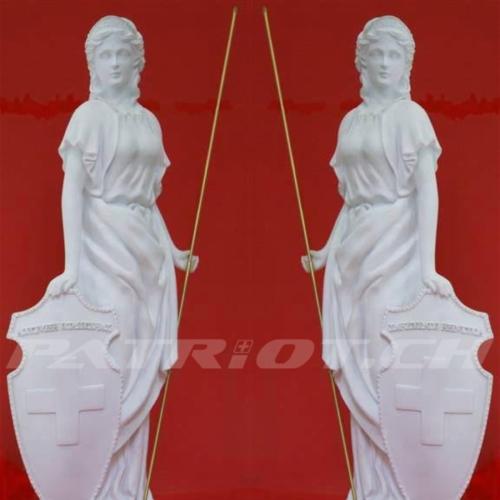 #helvetia #statue