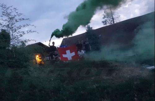 #fahne #pyro