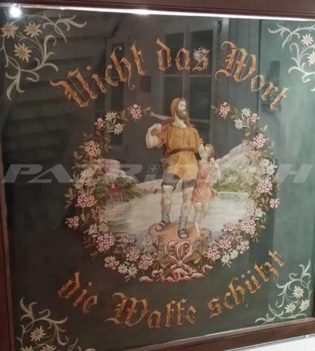 #wilhelmtell #fahne #waffe #waffenrecht