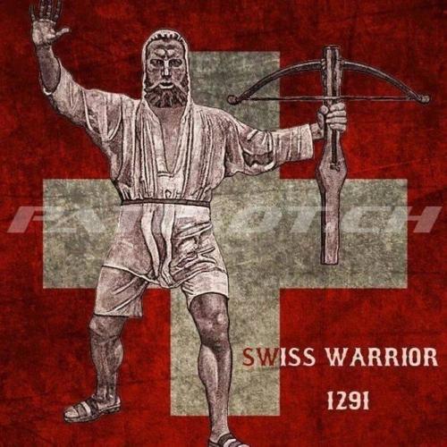 #wilhelmtell #armbrust #schweizerkreuz #1291 #swisswarrior