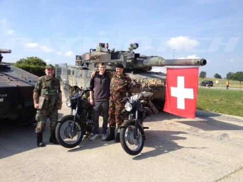 #condor #condora350 #motorrad #armee #panzer #leopard #fahne