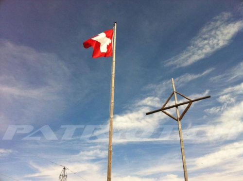 #trinnereschwand #glaubeberg #obwalden #kreuz #fahne