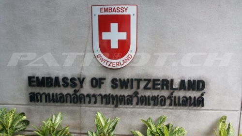 #embassy #switzerland #bangkok