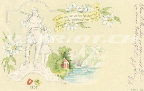 #postkarte #wilhelmtell #tell #schützen