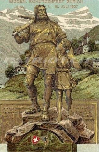 #postkarte #wilhelmtell #guillaumetell #tell #walterli #1307