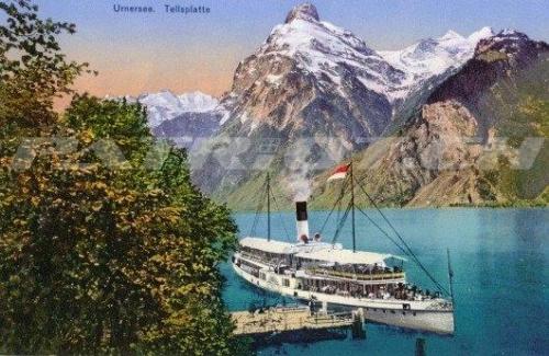 #postkarte #urnersee #tellsplatte