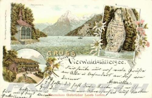 #postkarte #tellskapelle #rütli #schillerstein