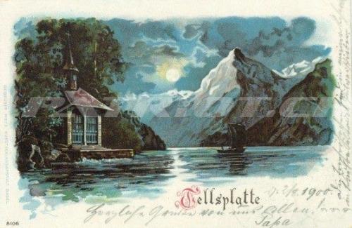 #postkarte #wilhelmtell #tellsplatte