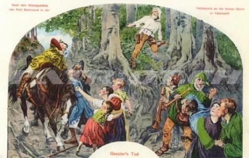 #postkarte #gessler #wilhelmtell