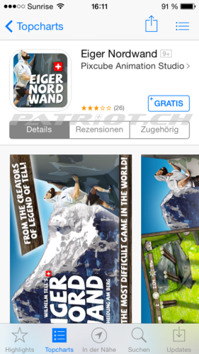 #eiger #nordwand #game