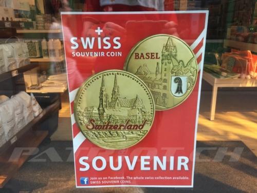 #souvenir #coin #basel