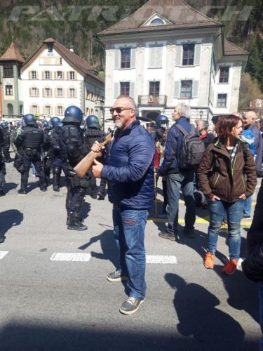 #altdorf #uri #telldenkmal #demo
