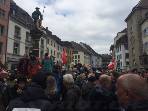 #schaffhausen #demo