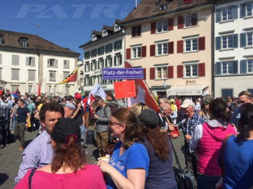 #rapperswil #spaziergang #demo