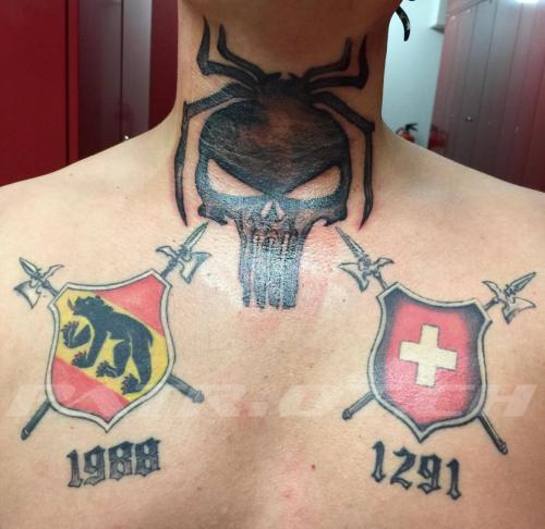 #tattoo #tattoos #bern #hellebarde